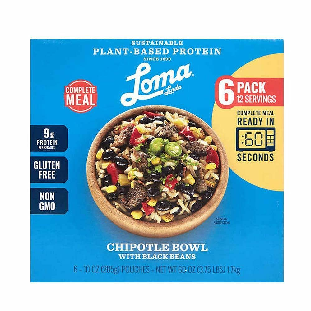 Blue - Chipotle Bowl Heat Eat Vegan 10 6 Choice Boxed Pack oz. Direct stock discount