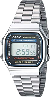 Casio A168W-1 Casio Illuminator Watch