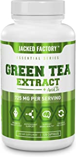 Sponsored Ad - Green Tea Extract 725mg with AstraGin - Premium Green Tea Extract w/ 98% Polyphenols, 75% Catechins, 45% EG...