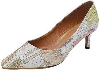 Women's Low Heels Dress Pump Shoes for Lady Women