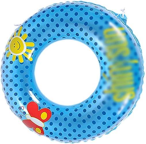 EGCLJ Anneau Flottant Gonflable pour Adulte - Seaside Lifebuoy - Jouet De Piscine D'été - Jouets De Plage Aquatiques pour Enfants Et Adultes (Taille   80)