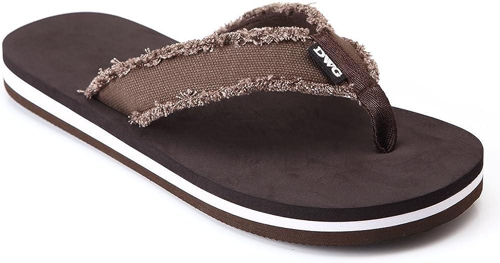 Credence Tampa Mall DWG Men's Soft Flip-Flops Sandals Light Slipp Proof Shock Weight