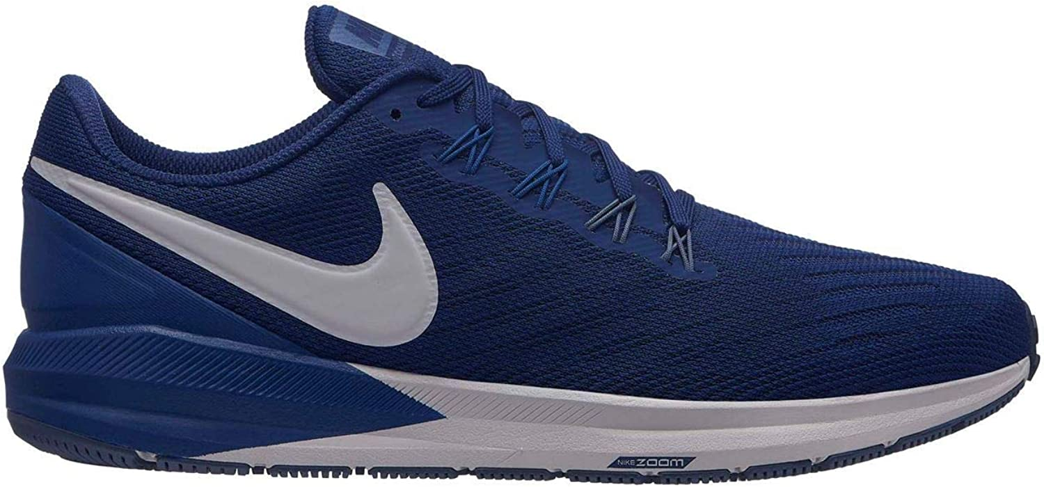 Official Nike Air Zoom Structure Running shoes Mens blueee Fitness Jogging Trainers Sneaker