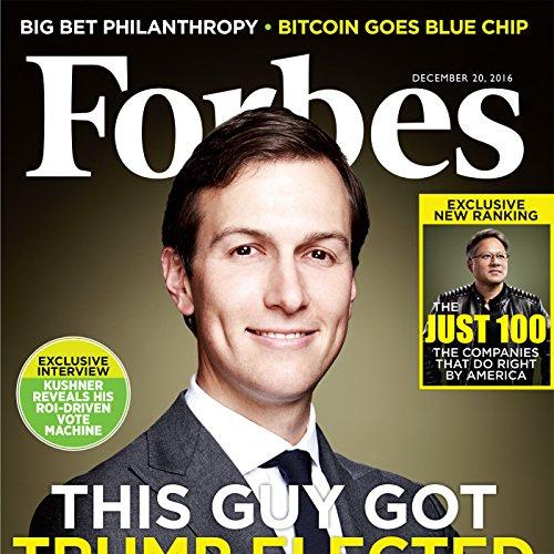 『Forbes, December 20, 2016』のカバーアート