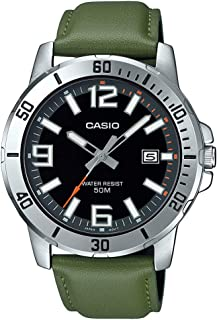 Casio Analog Black Dial Men's Watch-MTP-VD01L-3BVUDF (A1738)