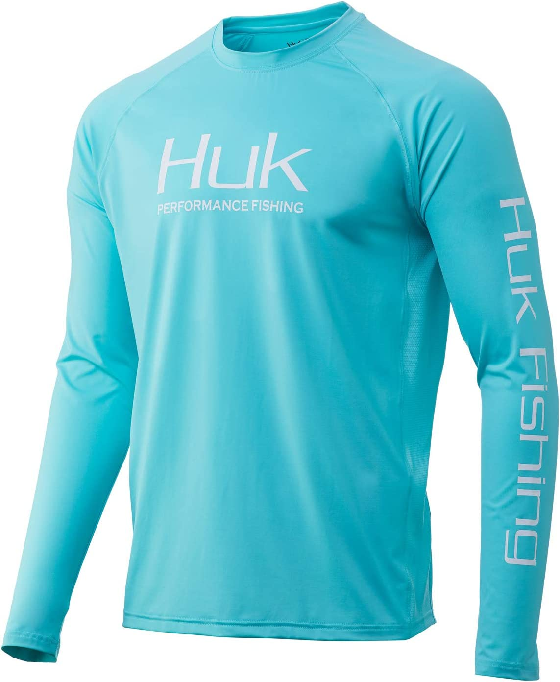 HUK At the price Some reservation Men's Pursuit Vented Long Sleeve UPF Fishing Blue Shirt 30