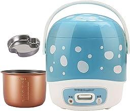 Rijstkoker (1,2 l/200 W) Huishoudelijke Mini niet-Stick Rijstkoker, koken met één knop en automatische warmtebehoud, voor ...