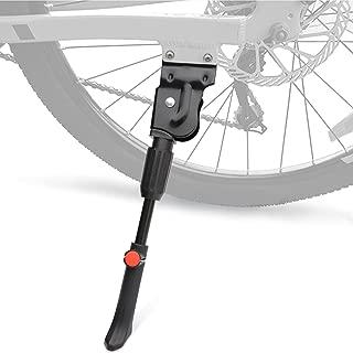 "I-BOSOM Kickstand Alloy Adjustable Bicycle Kickstand Rear Side Non-Slip Bike Kick Stand for 20''22''24''26''27"" Mountain Bike/Road Bike/BMX/MTB"
