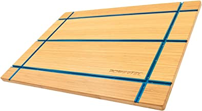 POWERTEC 71361 T-Track Table Top   Wooden T-Track Accessories for Woodworking - Premium Bamboo Workbench Top Edition