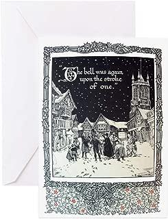 CafePress Dickensian Carolers Greeting Card, Note Card, Birthday Card, Blank Inside Matte