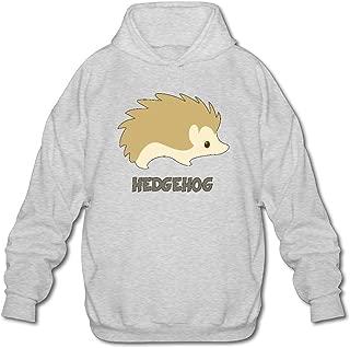 MPIQW Adult Hedgehog Hoodie Athletic Pullover Sweatshirt