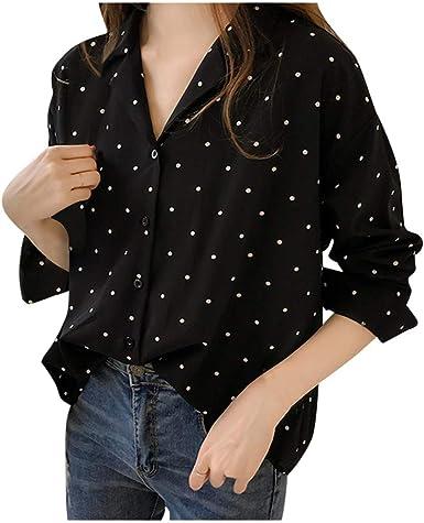 Camisa Fiesta Mujer Noche,Camisas Mujer Manga Larga,Casual ...