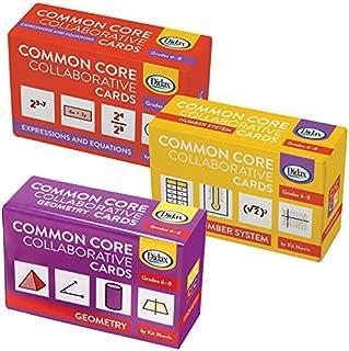 Didax Educational Resources Children's Common Core Grade 6- 8 Collaborative Card Set