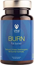 Vital Concept Burn – Intensive Fast Fat Burning in Gym Natural Unisex Weight Loss and Shaping Formula with Green Coffee Extract Guarana Metabolism Thermogenic Support 60 Caps 30 Day Supply Estimated Price : £ 15,00
