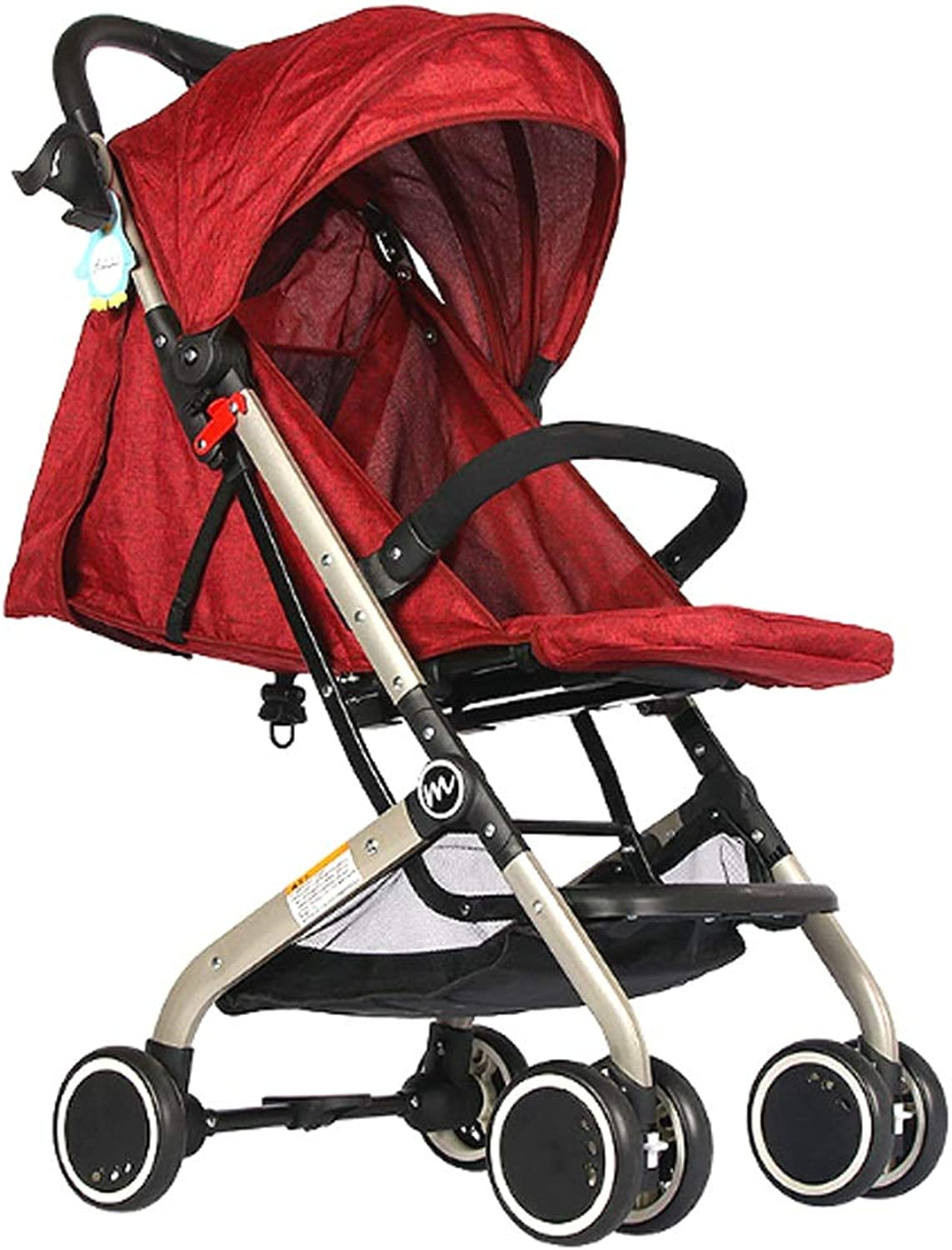 Xiao ping Strollers Lightweight And Portable Stroller Pushchair Folds Slim