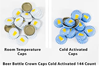 Beer Bottle Crown Caps - Oxygen Absorbing for Homebrew (Cold Activated)