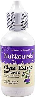 NuNaturals - Clear Stevia Pure Liquid Plastic Bottle - 2 oz. ( Multi-Pack)