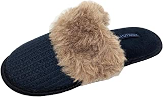Bright Women's Soft Warm Comfy Faux Fur House Slippers