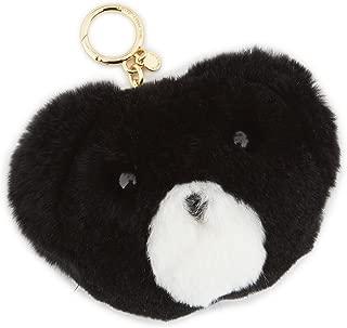 Michael Michael Kors Teddy Bear Pom Fur Key Chain Toy Fob Bag Charm