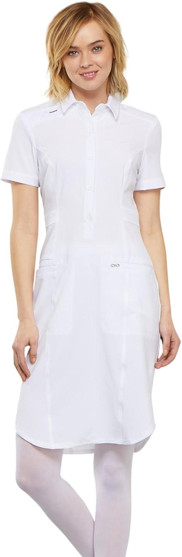 Cherokee Infinity Women Regular store Scrubs Dress CK510A Front Button Superior 39