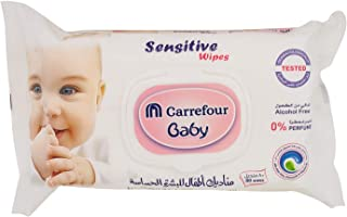 M Carrefour Baby Wipes Sensitive Set of 2