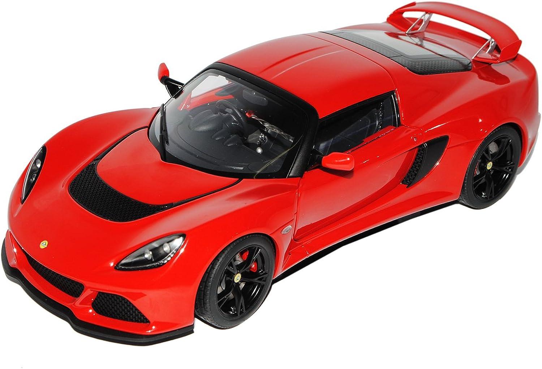 AUTOart Lotus Exige S Rot 3. Generation Ab 2012 75381 1 18 Modell Auto B01E0IO422 Spielzeugwelt, glücklich und grenzenlos  | Exzellente Verarbeitung
