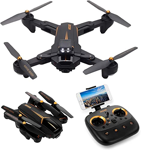 Koeoep XS812 GPS 5G WiFi RC Quadcopter Drone with FPV 1080P HD Camera 4 Channels Foldable Arms - Headless Mode,Altitude Hold,One Key Take-Off and Landing