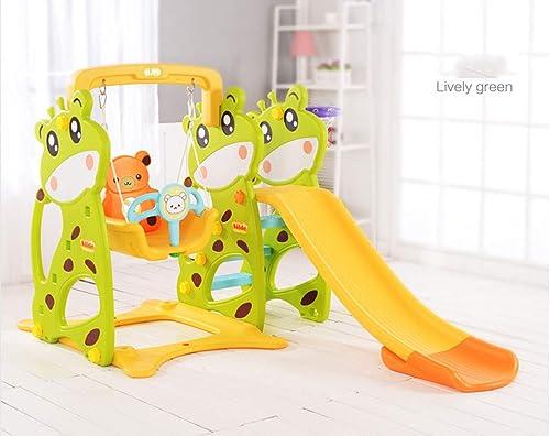 suministramos lo mejor Thole Toboganes Infantil y Columpios Juguetes Juguetes Juguetes Niños Diapositiva para con Canasta Interior Exterior Parque Jardín Adecuado para bebé de 2-8 años.  comprar descuentos