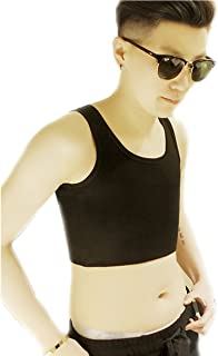 BaronHong Cotton Pullover Chest Binder Without Clips for Tomboy Trans Lesbian