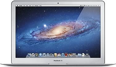 Apple MacBook Air MD760LL/A 13.3-Inch Laptop (Intel Core i5 Dual-Core 1.3GHz up to 2.6GHz, 4GB RAM, 128GB SSD, Wi-Fi, Bluetooth 4.0, Thunderbolt Port, Razor Thin) (Renewed)