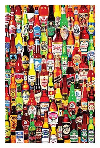 Rompecabezas 520/1000/1500 Piezas For Adultos Crazy Soda Bottle Puzzle Rompecabezas De Madera Regalo Personalizado For Niños (Size : 1500Piece)