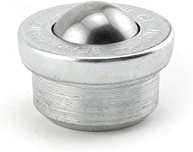 Hudson Bearings MBT-1 Drop-in Style Machined Mounted Ball Transfer, Carbon Steel, 1