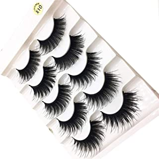 Vezza Eyelash Beauty 1 Box Luxury 3D Lashes Fluffy Strip Eyelashes Long Natural