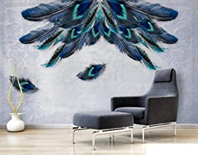 Behang 3D Behang Muurschilderingen Kleur Veer Hout Patroon Muurschildering 3D Slaapkamer Behang voor Woonkamer Muur Papier...