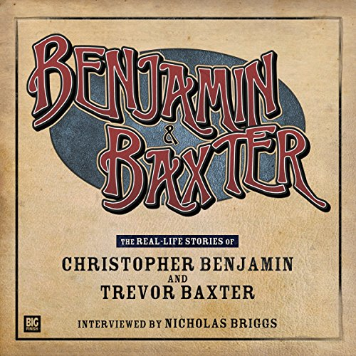 Benjamin and Baxter audiobook cover art