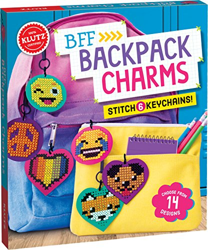 Bff Backpack Charms (Klutz), 821018