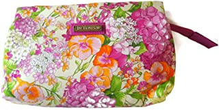 - Handmade Thai Silk - Jim Thompson - Lady Coin Cosmetic Bag Wallet Purse Clutch Pouch Pocket - Paisley Flory with Pink Zip