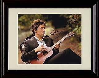 Framed Jason Mraz Autograph Replica Print