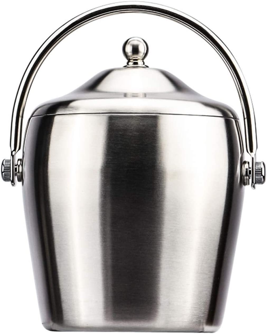 UXZDX Kansas City Mall Ice Bucket with Cheap bargain Lid And Strainer Made Steel Stainless Well