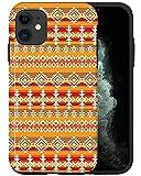 Casfy - Funda para iPhone 11, Navajo KU109_7, diseño de moda estético, accesorios para teléfono