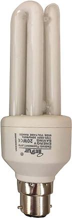 Inbur - 2 Pin Energy Saver Bulb - 20 Watts - White 2U - DSK-IBR-20W