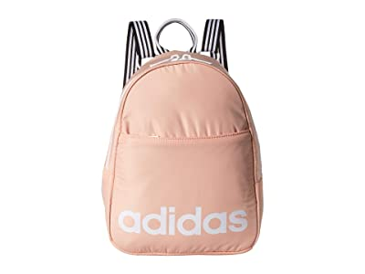 adidas Core Mini Backpack (Glow Pink/White) Backpack Bags