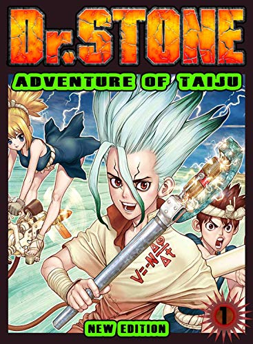 Adventure Of Taiju: Book 1 - Dr STONE Manga Fantasy Comedy Romance For Kids Graphic Action (English Edition)
