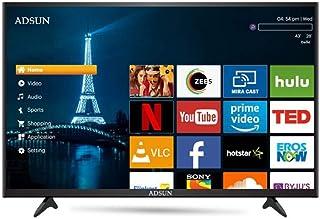ADSUN 127 cm (50 Inches) 4K Ultra HD Smart LED TV 50AESL1 (Black) (2019 Model)