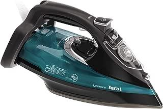 Tefal Steam Iron, Ultimate Anti Calc / Anti Scale, 2600 watts / 210 grams steam boost, Blue/Black, FV9745M0
