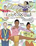 "RIO 2016 Gymnastics ""Final Five"" Coloring Book for Kids: Simone Biles, Gabby Douglas, Laurie Hernandez, Aly Raisman, Madison Kocian - Anthony Curcio"
