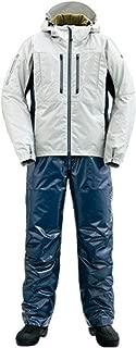 シマノ(SHIMANO) 防寒着 SS・3Dマリンコールドウェザースーツ RB-033R ライトグレー L