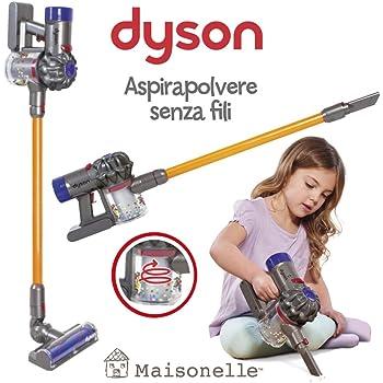 ODS V8 Dyson 20800 Aspirateur Jouet pour Enfants GrisOrange et Violet