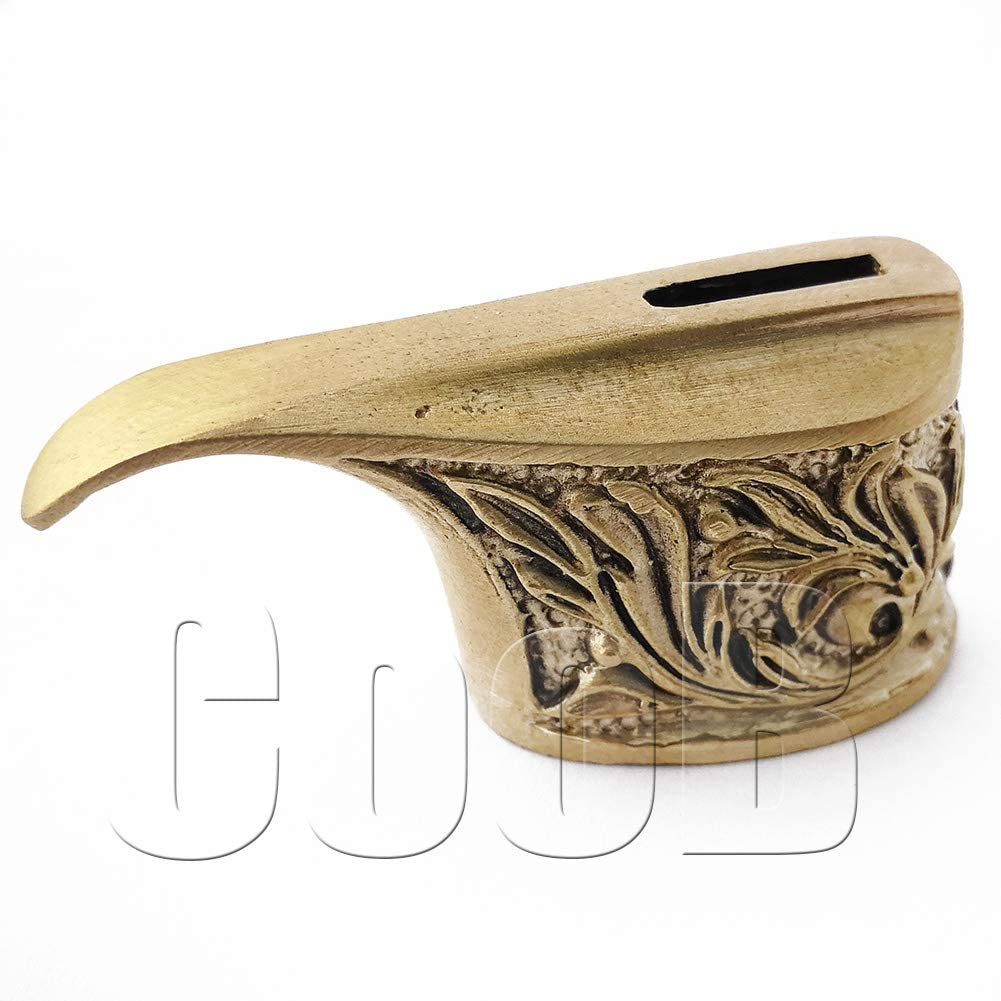 CooB Metal Knife Finger Guard Max 54% OFF Solid Bolster. Awesome Bronze Classic Knif
