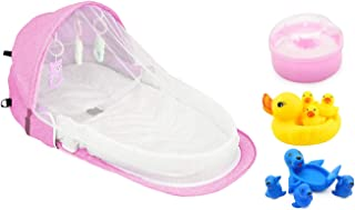 Star Babies Portable Bed with Mosquito Net Combo VD-60043, Pack of 1